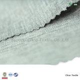 Raspa de arenque 100% de la tela cruzada del catión del poliester 100d para abajo la tela de la chaqueta