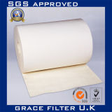 No tejido de material filtrante del filtro de tela fieltro con aguja PPS