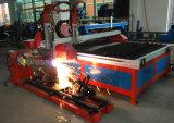 Machine de découpe plasma avec la chenille en acier