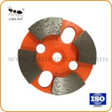 """Outil de diamant de métal Meule abrasive pour plaque de béton et ciment produit 3""""/80mm"""