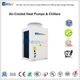 В моноблочном исполнении Air-Cooled тепловой насос и Чиллеры