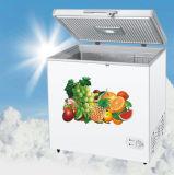 マニュアルは上の深い開放されたの箱のフリーザーの霜を取り除く