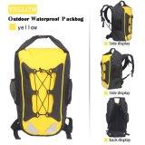 En el exterior impermeable amarillo Rafting Mochila seca para practicar senderismo o camping
