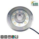 9W/27W Waterproof LED Fountain Underwater Lamp