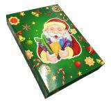 크리스마스 선물 포장을%s Foldable 종이상자를 인쇄하는 광택 있는 관례