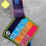 Corrida de FLOCO GROSSO Sports Masonic Metal Medalha Desporto personalizada