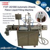 Máquina de rellenar líquida del pistón automático Yt2t-2g1000 para el vino