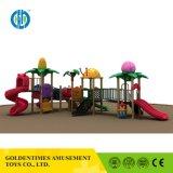 Baixo preço atraente Crianças Pequenas parque ao ar livre design interessante com a série de slides