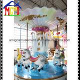 8 de Aantrekkelijkheid van het Park van de Rit van Kiddie van het Paard van de Carrousel van de Engel van zetels