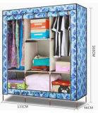 Современный простой шкаф домашних ткань складная тканью Уорд узел хранения размера кинг усилитель комбинацию простых шкаф (FW-59E)