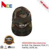 الصين أغطية صناعة عالة 6 لون مسطّحة حافة جيش [كمو] [سنببك] قبعات