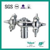 Nettoyeur sanitaire rotatoire de l'acier inoxydable SS304 SS316L de nettoyeur