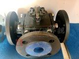 Methoden-Kugelventil des CS Kohlenstoffstahl-Ce/ISO quadratisches des Flansch-3