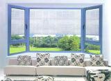 Woodwin Hot vendre Fenêtre à battant en aluminium avec le verre trempé