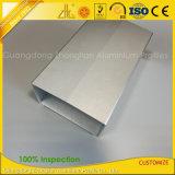 Custom tornando usinagem CNC Gabinete de extrusão de alumínio para Carregadores