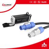 Heißer verkaufender wasserdichter XLR 3 Pin-Kabel-Verbinder-männlicher Stecker