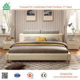 Projetos de madeira de couro elegantes da base dobro de boa qualidade
