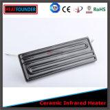 Infravermelho radiante cerâmico elétrico do calefator