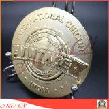 習慣3Dデザインはスポーツのゲームのためのダイカスト賞メダルを