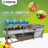 Hpd-30 Nueva condición de la máquina de secado Lavado de frutas, verduras de la máquina lavadora y secadora