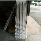 Balai de nettoyage de spirale de tube d'acier inoxydable pour le panneau solaire