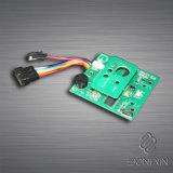 亜鉛合金の電子シリンダー安全なドアハンドルロック