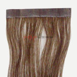 Blonde cheveux plein Handtied vierge de la trame de la peau (PPG-L-0584)