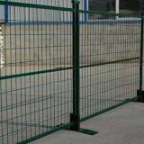Puder-überzogener temporärer Zaun für Kanada