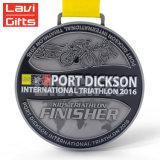 Barato de metal de alta calidad personalizado Premio Medalla de deporte maratón