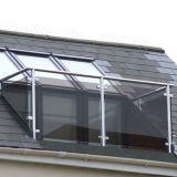 Het aangepaste Traliewerk Van uitstekende kwaliteit van de Leuning van de Balustrade van het Glas voor Balkon