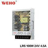 fuente de alimentación de interior ultra delgada de 100W 24V LED (LRS-100-24)
