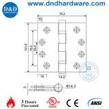 4'x3'x3.0 Door Hardware listé UL Charnières pour meubles
