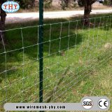 修復される結ばれる網を囲う農場フィールド塀を得る