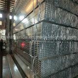 Uso de aço galvanizado quadrado da câmara de ar para a mobília/cerca/ornamento