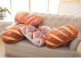 Ammortizzatore lombare della peluche di simulazione 3D del pane del cuscino della parte posteriore creativa dell'ufficio