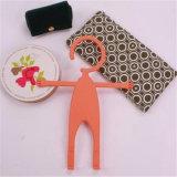 Support humain de téléphone mobile de forme de la mode Sy02-01-004 avec le crochet