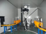 Voiture de la ligne de production de pulvérisation de moyeu de roue