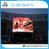 A Todo Color exterior P6/P8/P10 en la pantalla LED de la curva para vallas publicitarias