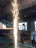 Efeito de palco iluminação fria máquina chama faíscas de fogo de artifício