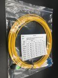 Koord van het Flard mpo-LC van de vezel het Optische Duplex voor het Netwerk van het Lokale Gebied