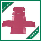 Personalizar el envío de caja de cartón ondulado reciclado con impresión a color