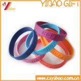 Kundenspezifischer Firmenzeichen-SilikonWristband (YB-SM-37)
