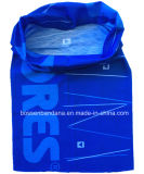Продукция фабрики Китая подгоняла ветошь Tubies Hoo голубого полиэфира логоса напечатанную сублимацией волшебную