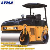 Machine simple de rouleau de route de tambour mini rouleau de route de 0.5 tonne