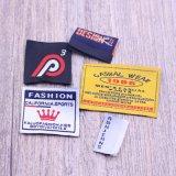 Guangzhou barata etiqueta tejida para prendas de vestir