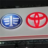 Concevoir le logo en fonction du client de véhicule d'insigne en métal de la salle d'exposition 4s