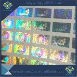 Collant fait sur commande de laser d'effet d'arc-en-ciel pour le bracelet de silicium