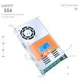 MPPT-50AMP 12V/24V/36V/48V 한 벌 Li 건전지 태양 관제사 책임 규칙