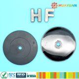 13.56MHz RFID NTAG213 아BS RFID 동전 징표 꼬리표