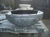 Pierre de granit et de marbre au-dessus de contre- bassin pour la salle de bains